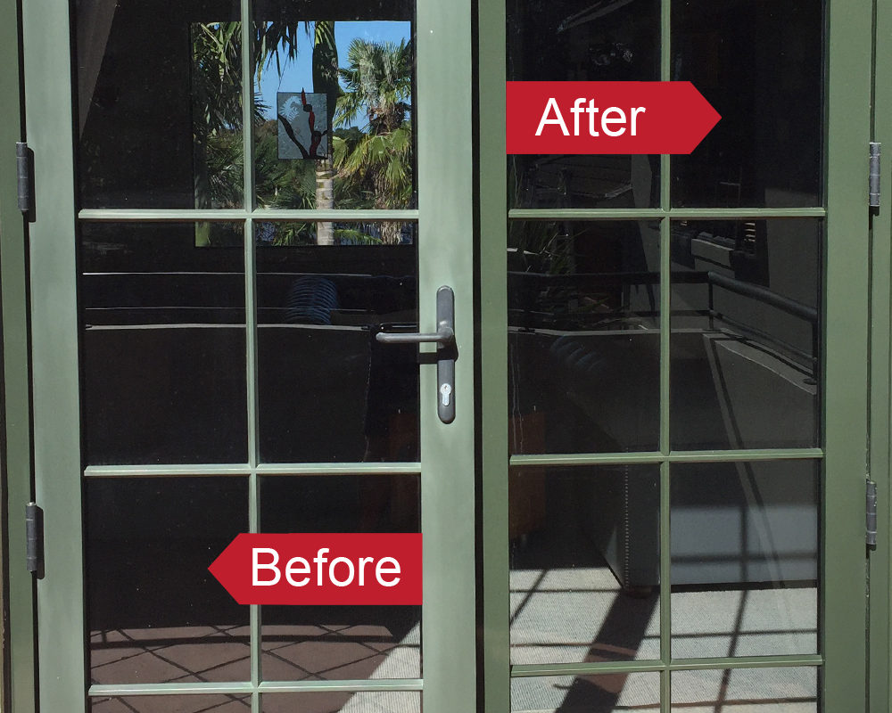 Restore faded aluminium joinery with an Everbrite DIY Coating