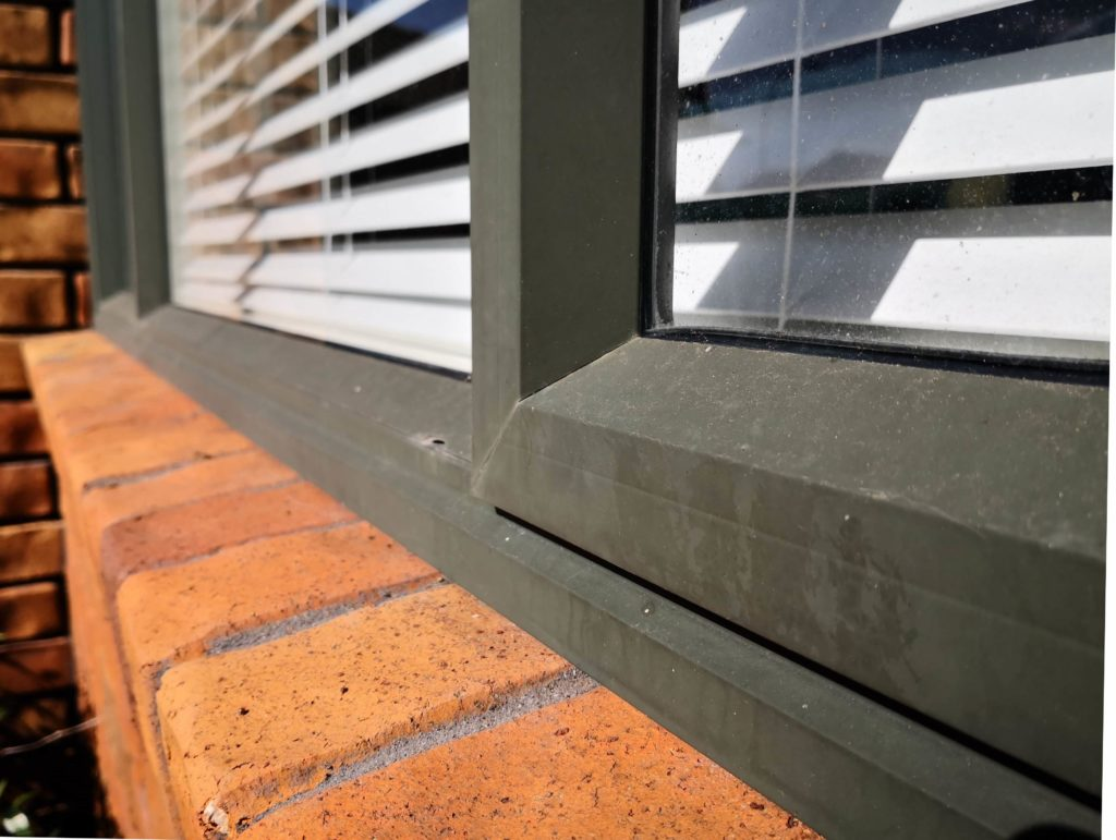 Restore faded aluminium joinery with an Everbrite Coating