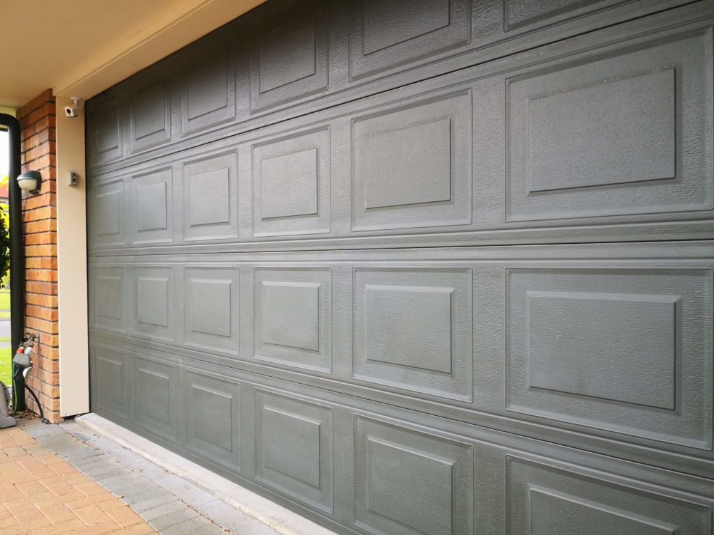 Restore and protect powder coated garage doors with an Everbrite Coating