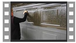 Video of Everbrite DIY application to a faded oxidised garage door