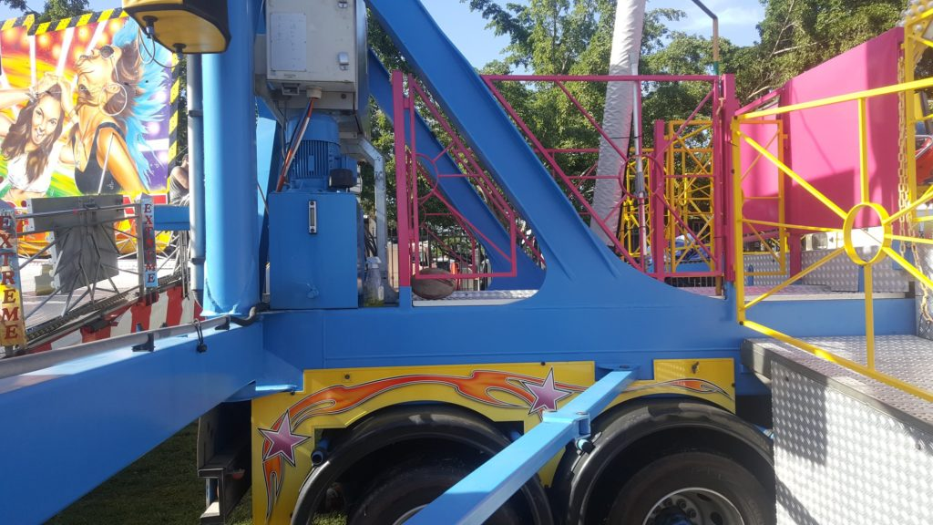 Faded playground equipment can have its faded colour restored with an Everbrite Coating