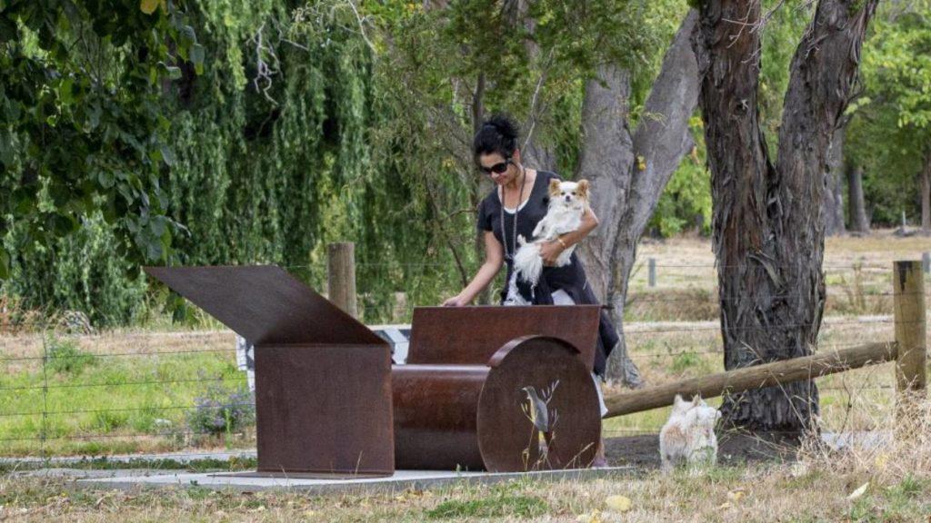 Corten Steel sealed with Everbrite - John Taylor Memorial