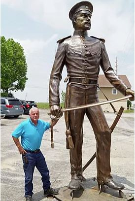Stop bronze tarnish and corrosion on statues with an Everbrite Coating