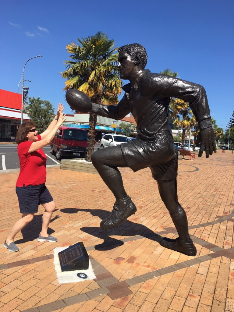 Bronze Statue of Sir Colin Meads is protected with Everbrite Coating