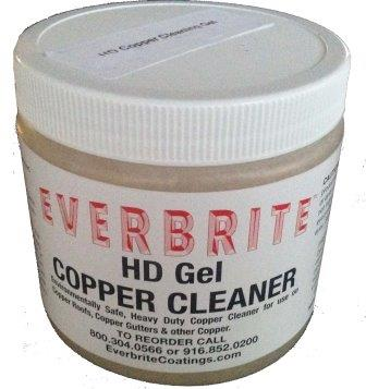 Copper Cleaning Gel to remove years old tarnish from copper