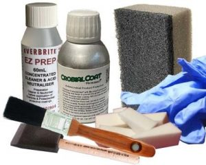 CrobialCoat 120mL Kit with Microban technology to inhibit bacterial growth on hard surfaces