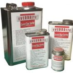 Everbrite Protective Coating comes in different size cans