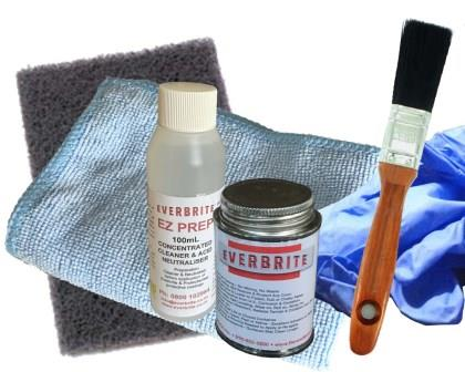 Everbrite Coating 120mL Kit in Natural Gloss and Satin finishes