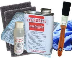 Everbrite Coating 480mL Kit in Natural Gloss and Satin Finishes