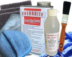 Everbrite Coating 960mL Kit in Natural Gloss and Satin Finishes