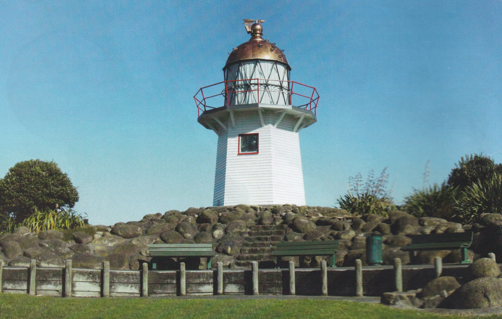 Copper dome on Lighthouse protected with Everbrite