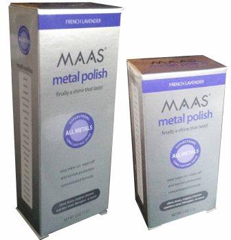 MAAS Polish - the very best polish available to clean metals