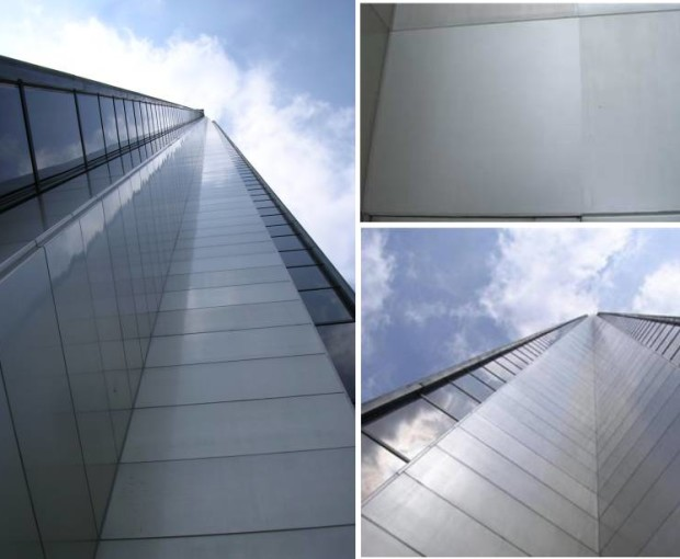 The Aon building is protected with an Everbrite Coating