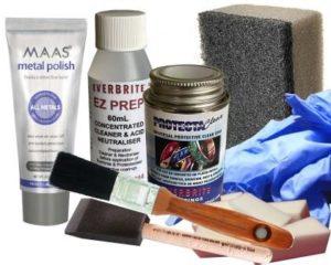 ProtectaClear Coating Kits with MAAS Metal Polish